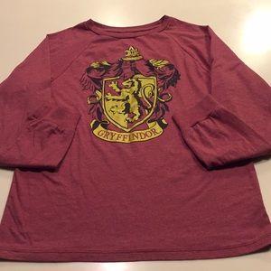 Harry Potter Gryffindor Top